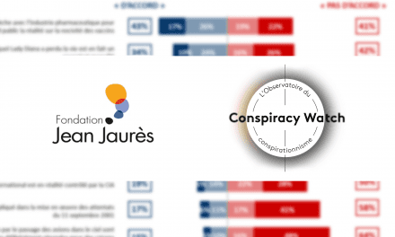 Complotisme en France : une nouvelle enquête d'opinion Conspiracy Watch-Fondation Jean-Jaurès